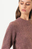 Brooky Knit Volumen O-Neck - Desert Sand - Second Female - Gensere - VILLOID.no