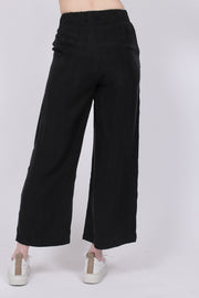 Cupro Pants - Black