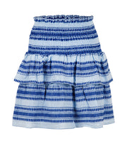 Carin Stitch Skirt - Light Blue