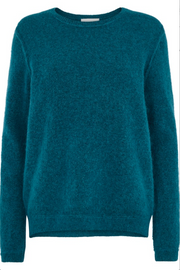 Brook Knit Raw O-neck - Fanfare