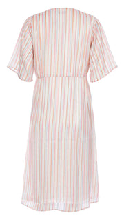 Boho Mid Dress - Pink Rainbow