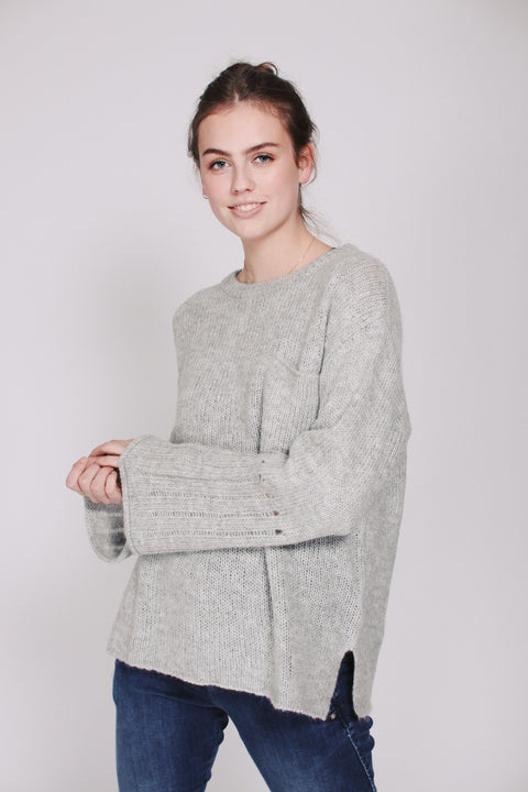 Fifi sweater - Grey Melange