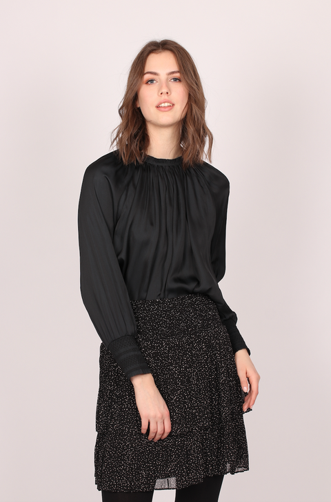 Day Marigold Bluse - Black (4363606982765)