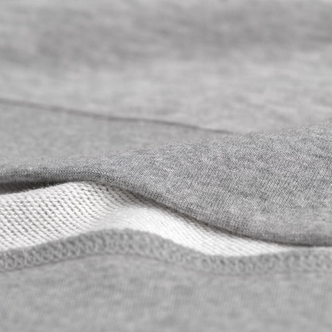 Gant Shield Logo C-neck Sweat - Grey Melange