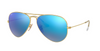 Aviator Large Metal - Cry.green Mirror Multi. Blue - Ray Ban - Tilbehør - VILLOID.no