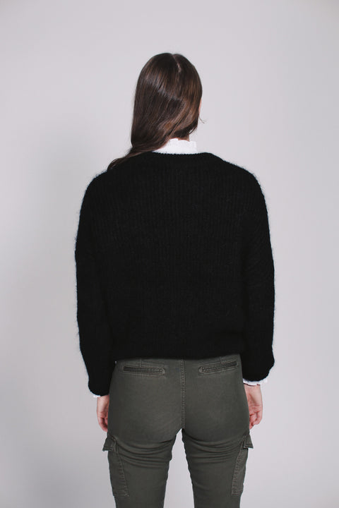 Beatrice chunky knit - Black