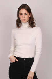 Day Whitney Turtleneck - Ivory Shade (4319501025389)