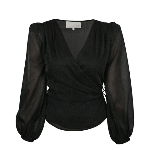 Jona Blouse - Black (4453212225645)