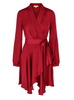 Iza Dress - Misty Red (4325672058989)