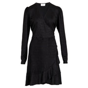 Mille Lurex Dress - Black (4385107640429)