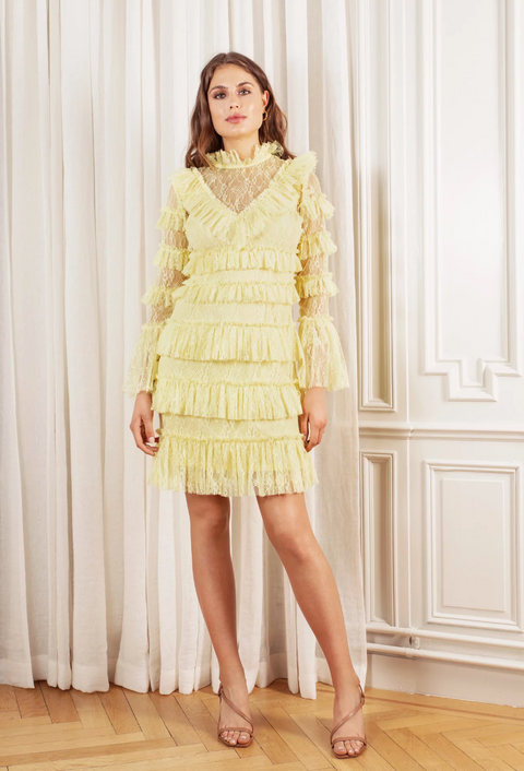 Rosa Dress - Lemon
