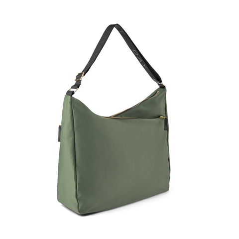 Day Double Zip Hobo - Four Leaf Clover Green