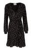 Hydra Wrap Dress - Snowberry - Just Female - Kjoler - VILLOID.no