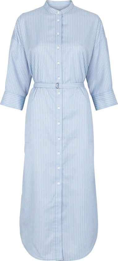 Orlanda SS Dress - Chambray Blue (1795210805283)