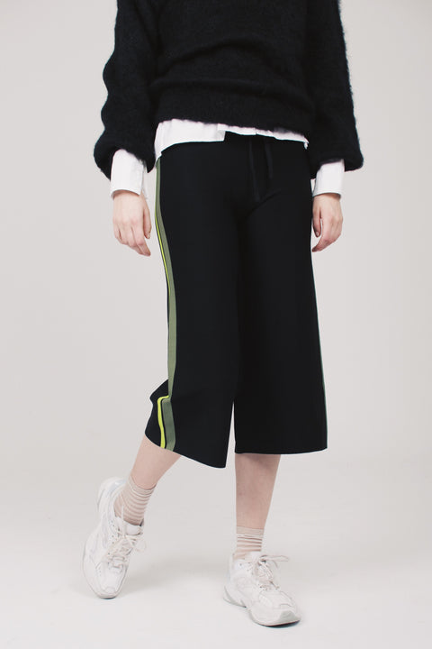 Striped Pants - Black