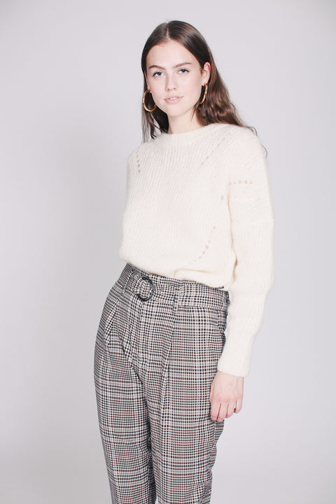 Beatrice Chunky Knit - White