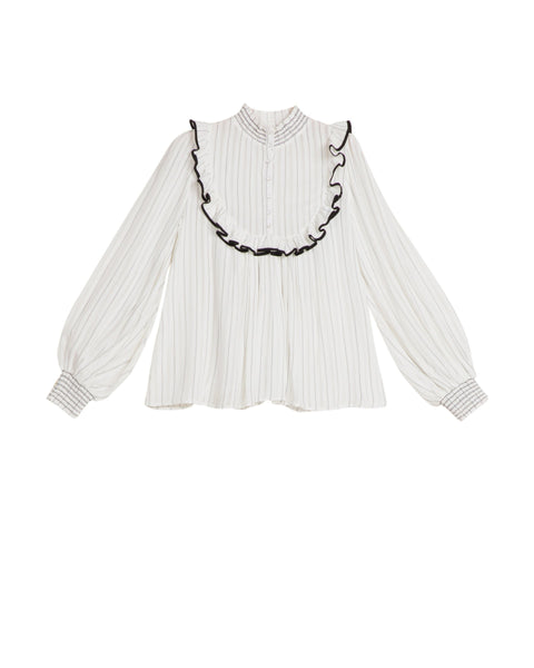 Stripes Blouse - Classic (4473656934509)