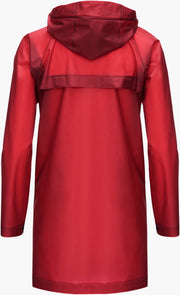 Basel Raincoat - Red
