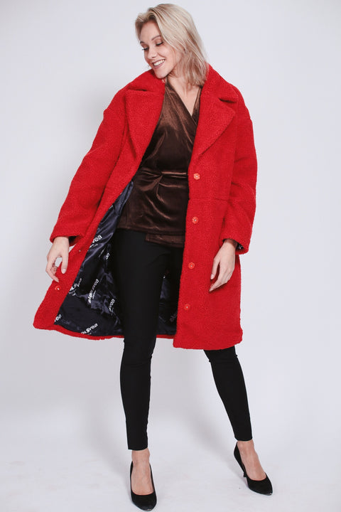 Marble Jacket - Bright Red (1476729929763)