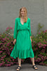 Reve Midi Dress - Blarney - Second Female - Kjoler - VILLOID.no