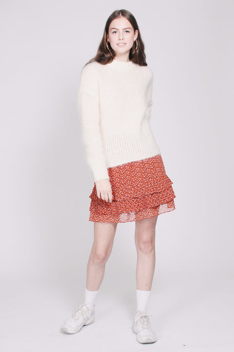 Lotte chunky knit - White