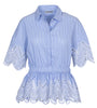 Torunn - Light Blue Stripe - FWSS - Topper - VILLOID.no