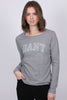 Arch Logo LS T-shirt - Grey Melange - GANT - Topper - VILLOID.no