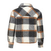 Viksa Jacket Short Wool - Grey/Camel Checks - Noella - Jakker - VILLOID.no