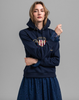 D1. Archive Shield Sweat Hoodie - Evening Blue - GANT - Gensere - VILLOID.no