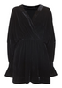 Glam Velvet Dress - Black - Line of Oslo - Kjoler - VILLOID.no