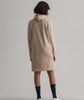 Archive Shield Hoodie Dress - Dry Sand