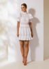 Iro Mini Dress - White
