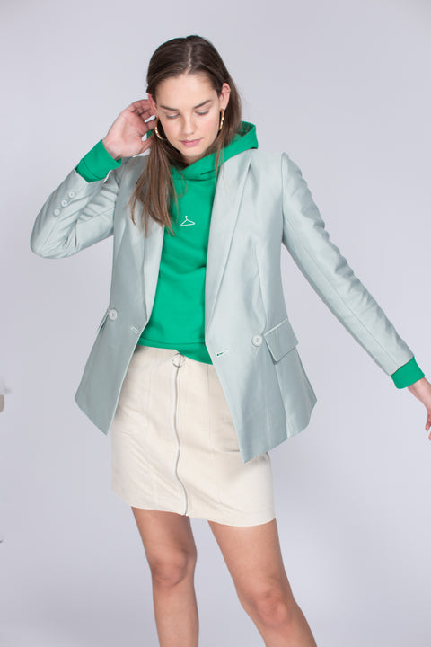 India blazer - Green tea (1476721147939)