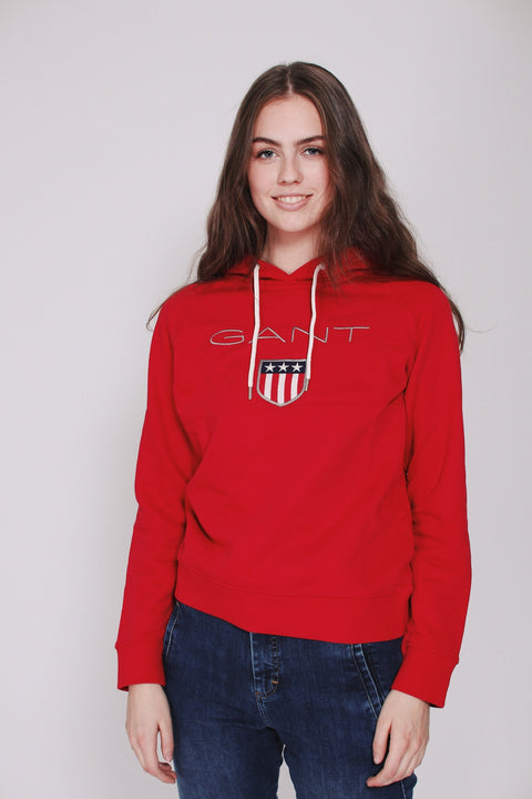 Shield Sweat Hoodie - Red