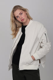 Biano Bomber - White Cotton (1476692934691)