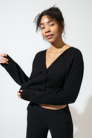 Soft Mohair Sweater - Black
