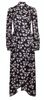 Shiny Midi Wrap Dress - Apple Blossom - ByTimo - Kjoler - VILLOID.no