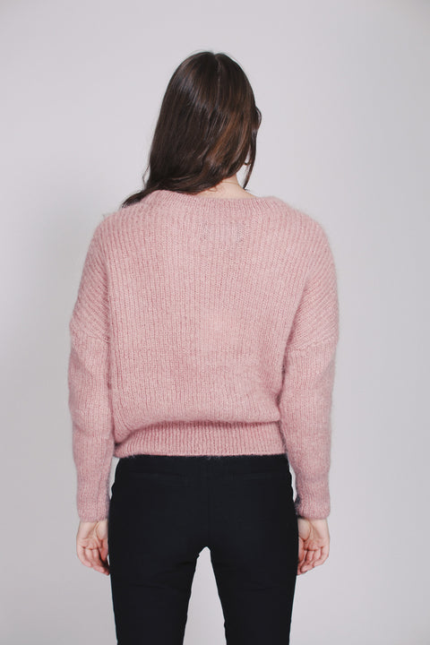 Beatrice Chunky Knit - Pink