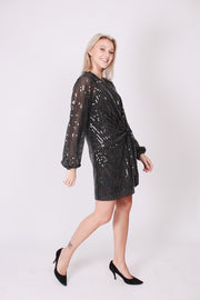 Ryder Dress - Multi Tulle Sequins