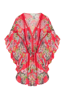 Melia Kaftan - Electric Jungle Pineapple