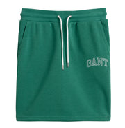 Arch Logo Sweat Skirt - Jade Green