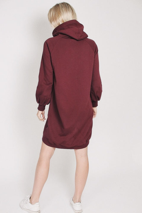 Long Hoodie - Vineyard wine (1865538600995)