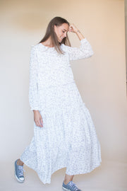 Isabelle long maxidress - White (1865520644131)