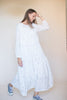 Isabelle long maxidress - White - Line of Oslo - Kjoler - VILLOID.no