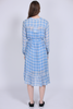 Terna Midi Dress - Little Boy Blue - Second Female - Kjoler - VILLOID.no
