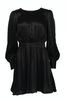 Satin Dress - Black - ByTimo - Kjoler - VILLOID.no