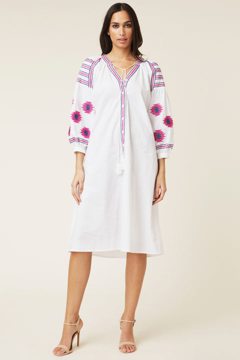 Riley Dress - White (4309074935917)