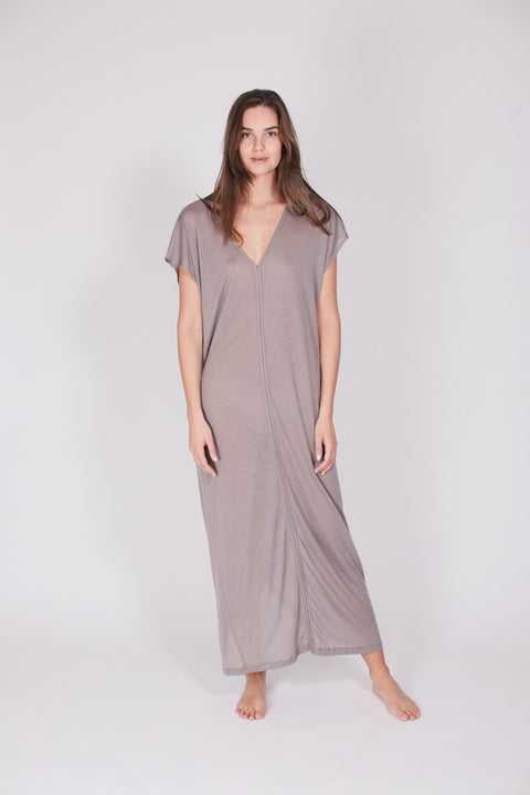 The Kaftan Dress - Stone (1476728979491)