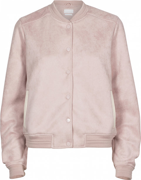 Suede Bomber - Dusty Pink (1476706271267)
