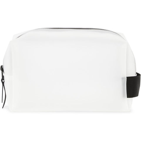 Rains Wash Bag Small - Foggy WhiteHvit